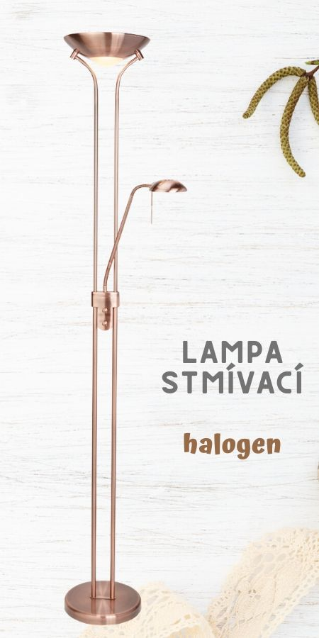 EU4329cu halogenova stojaci lampa