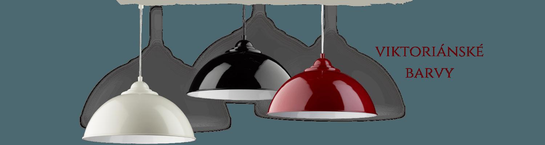 Svítidla - viktoriánské barvy
