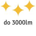1500 - 3000 lumenů