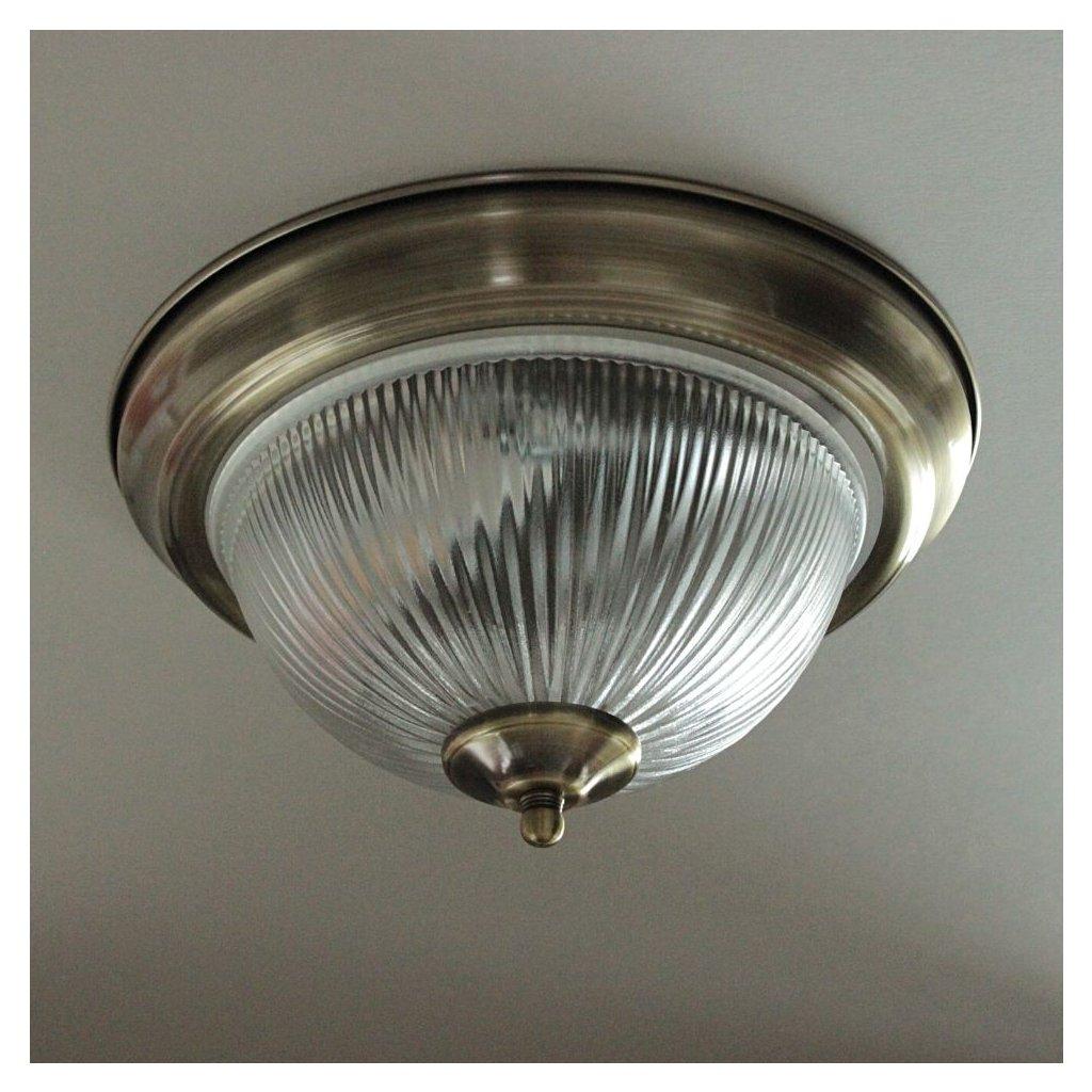 4370 stropní svítidlo antik mosaz obchod svitidla pikomal