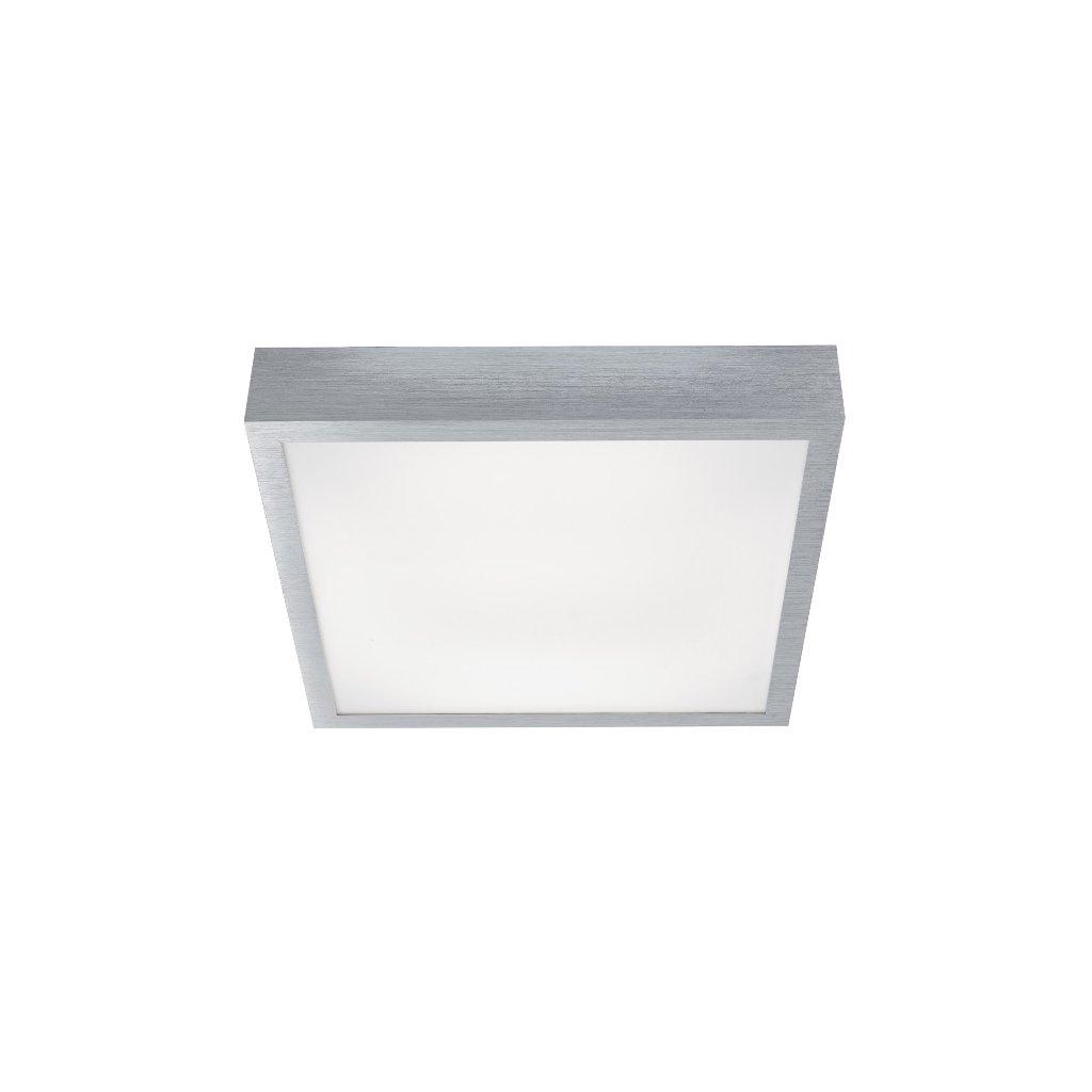 FLUSH stropní svítidlo 1881-36 hliník broušený a bílý akryl integrovaná LED