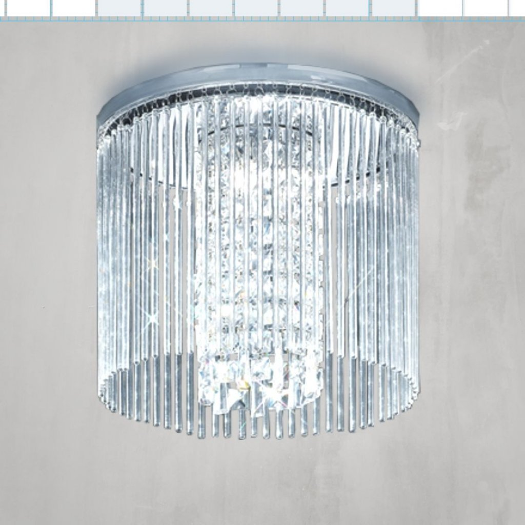 SEN256 3 stropní svítidlo do koupelny IP44 chrom a křišťál sklo obchod svitidla pikomal senemty sava (jpg)
