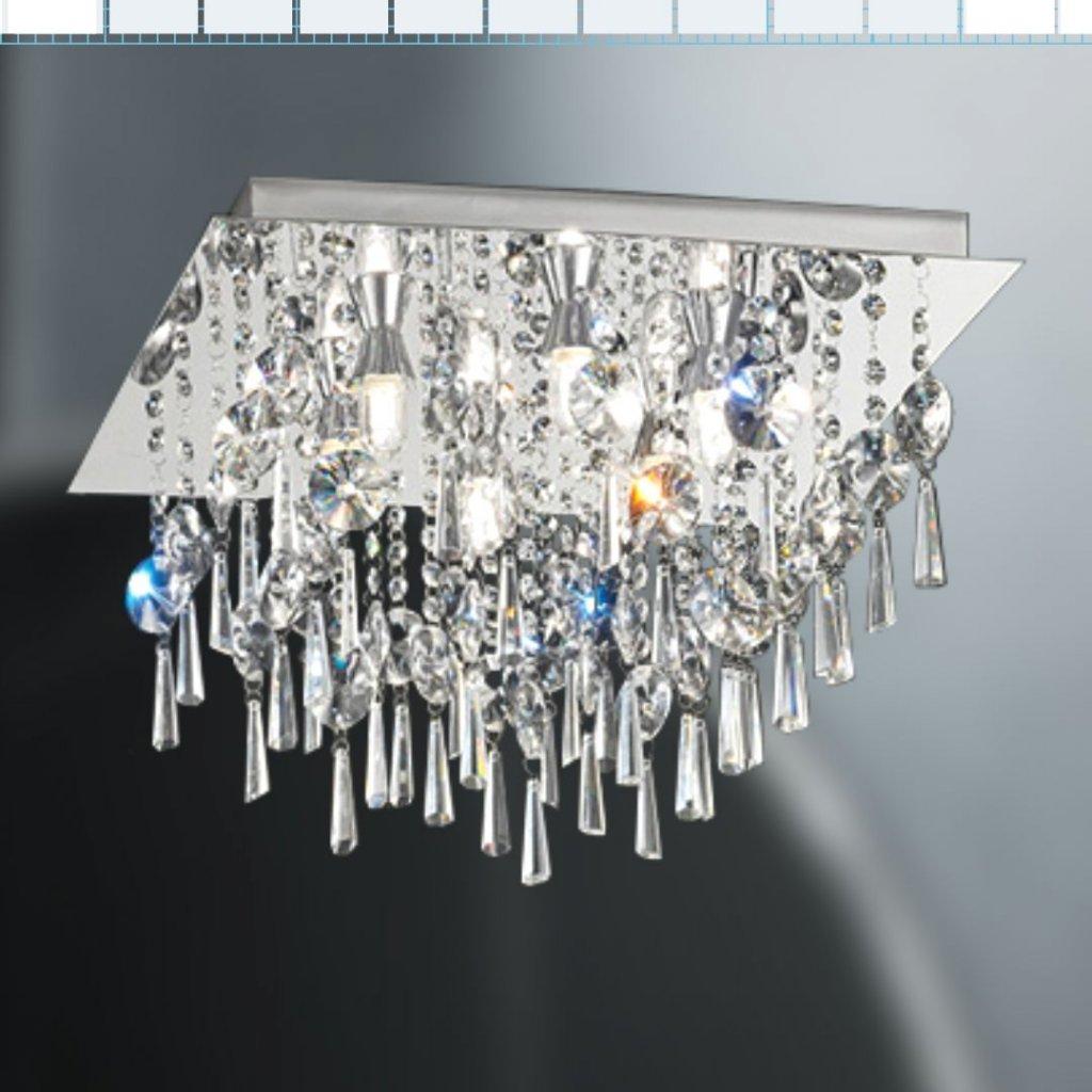 SEN257 4 stropní křišťálové světlo do koupelny IP44 obchod svitidla pikomal
