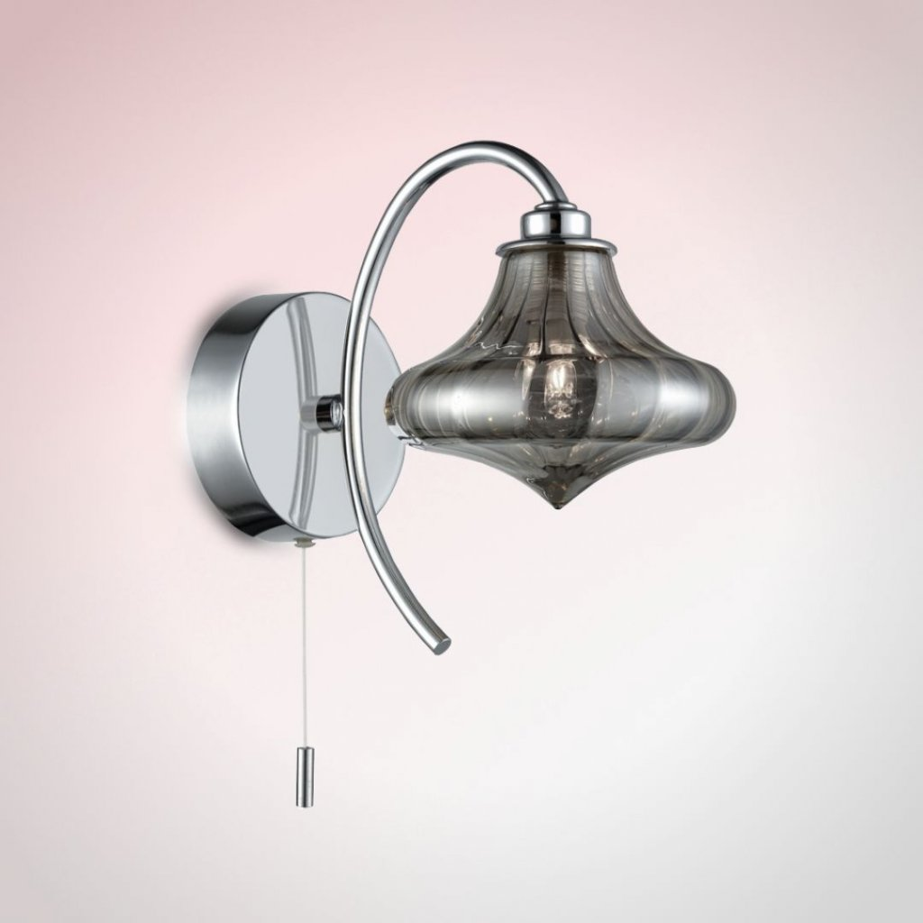 SEN265 4 světlo na stěnu do koupelny IP44 chrom a kouřové sklo obchod svitidla pikomal senemty (jpg)