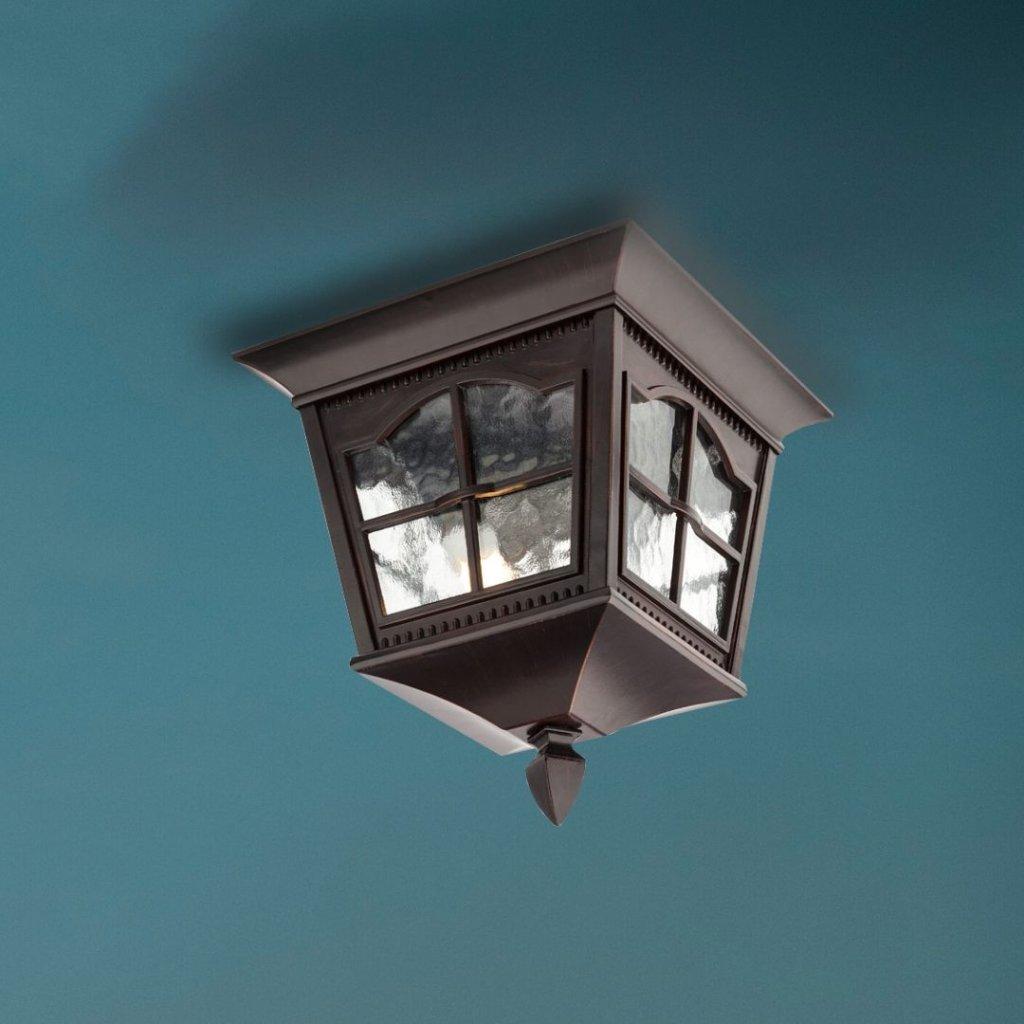 RENO315 venkovní svítidlo hliníkové IP44 antická hnědá na strop obchod svitidla pikomal sklo (jpg)