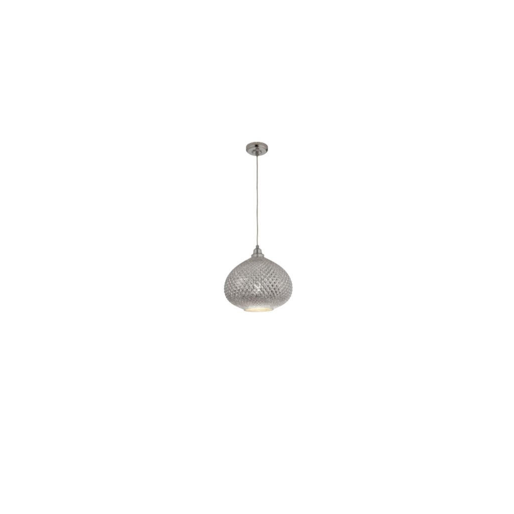 DT65 závěsné svítidlo ve stříbrné barvě