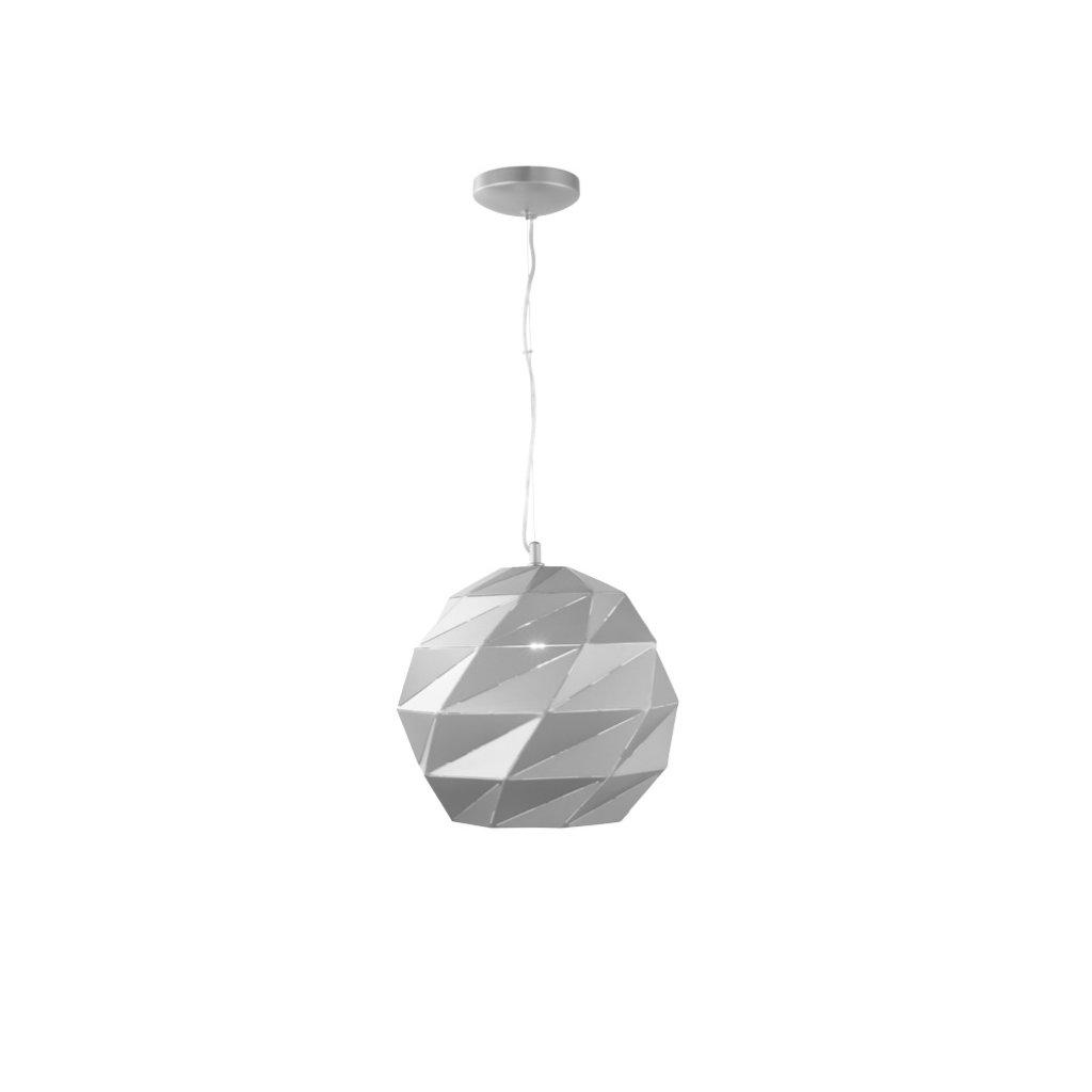 DT59 závěsné svítidlo ve stříbrné barvě