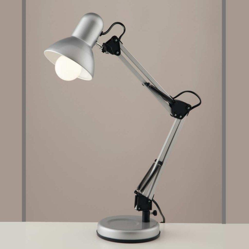 LDT033ARC SILVER stolni pracovni lampa obchod svitidla pikomal faneurope
