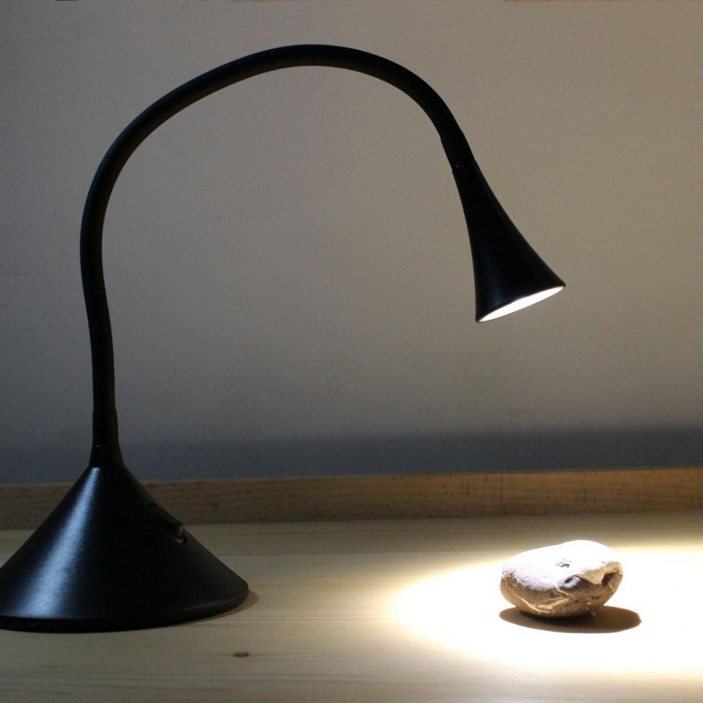 LEDT NEWTON BLACK lampicka na stul obchod svitidla pikomal bodova led