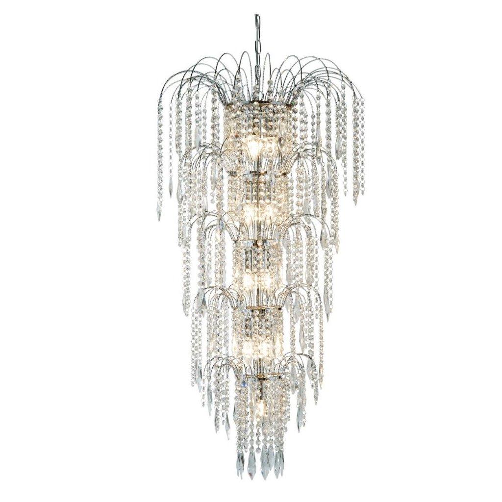1313 13cc kristalovy lustr na schodiště bohatě zdobený obchod svitidla searchlight