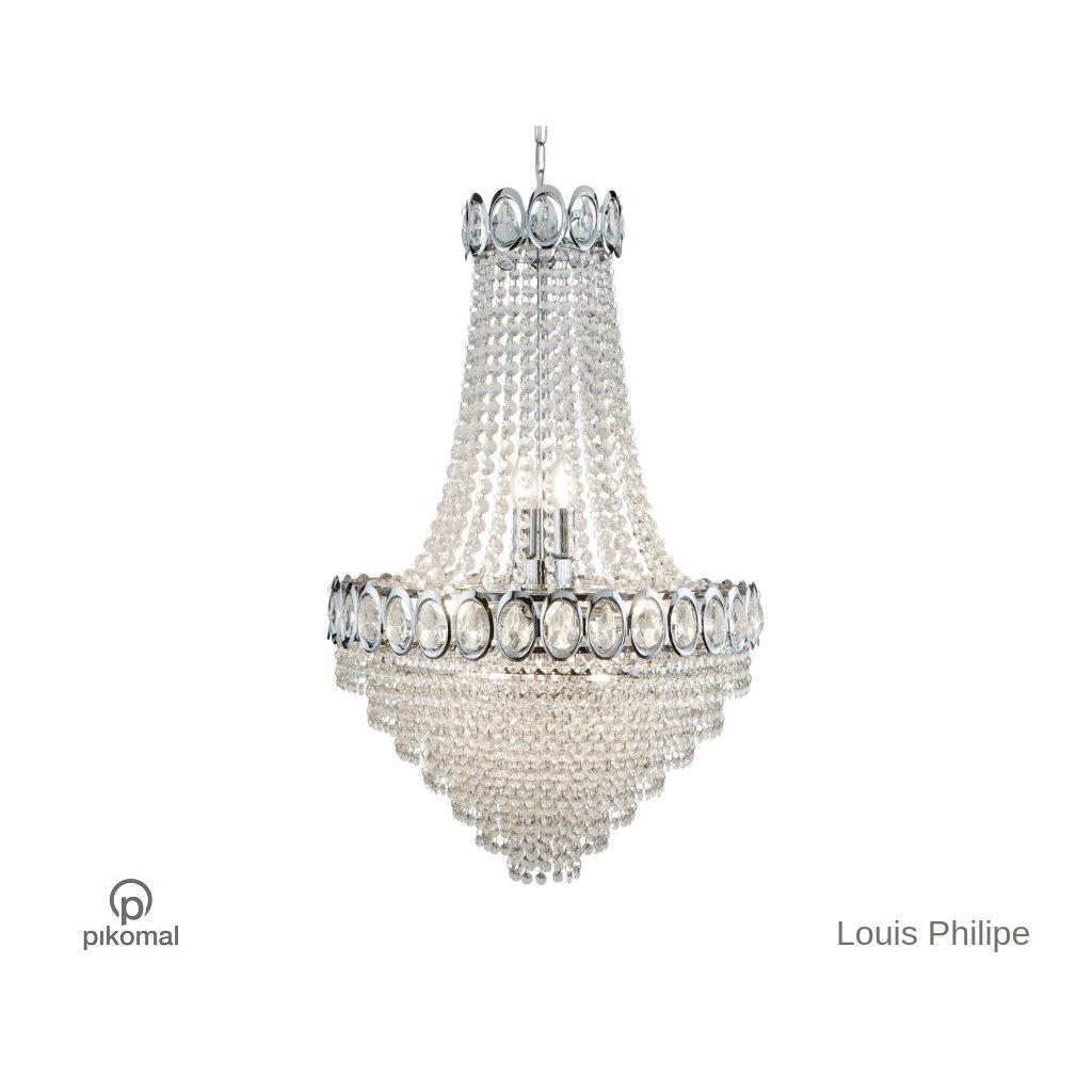 1711 11CC LUIS PHILIPE lustr křišťál na pikomal cz