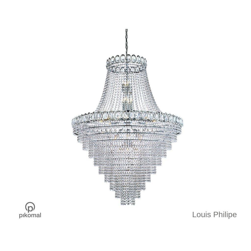 1711 102CC LUIS PHILIPE lustr křišťál na pikomal cz