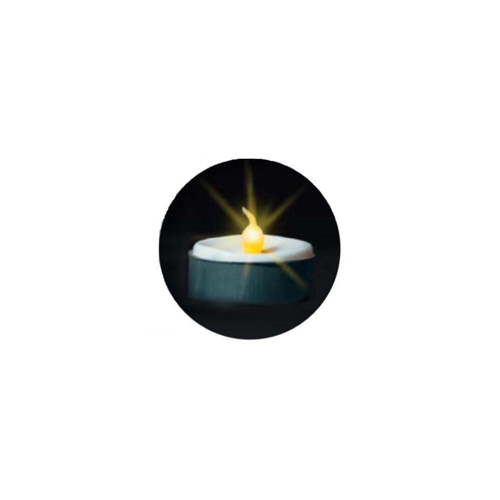 39806 TEE čajové svíčky blistr 2ks on/off LED (M0)