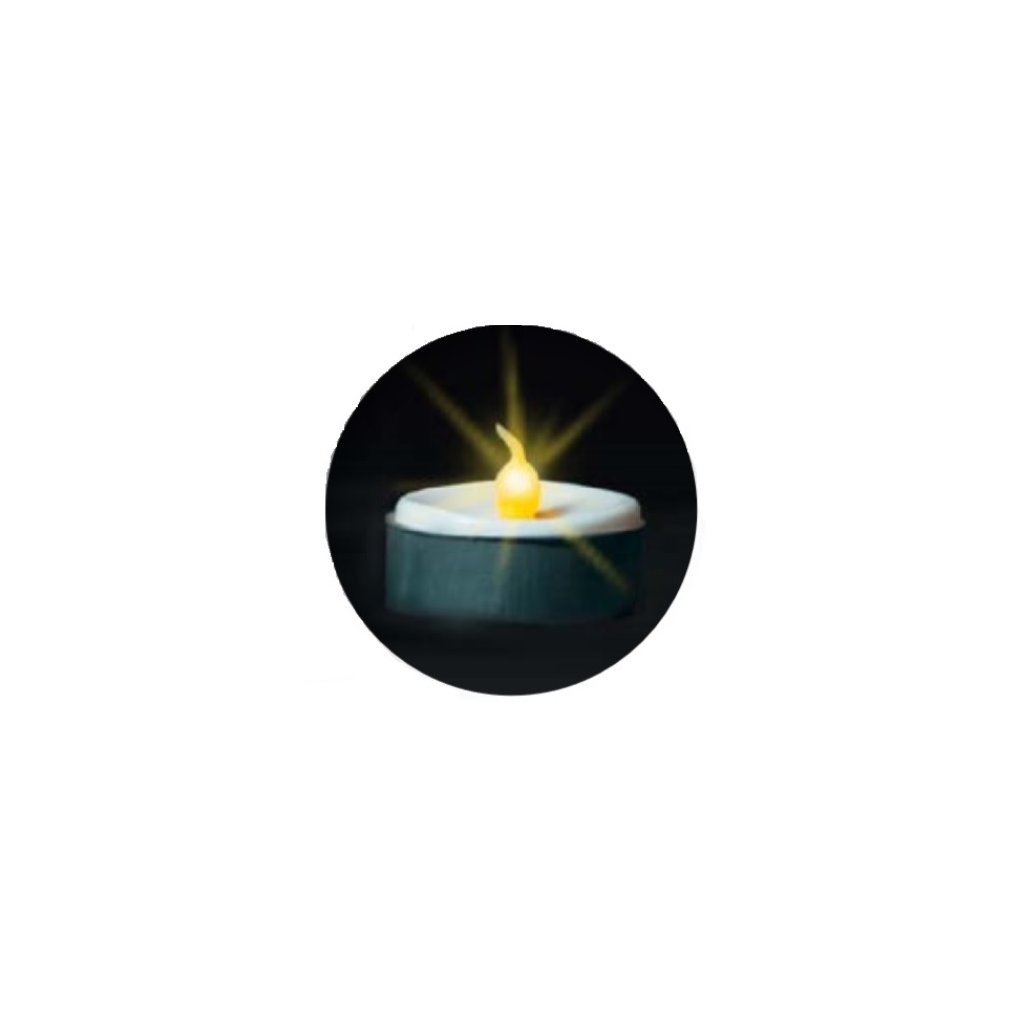 39806 TEE čajové svíčky blistr 2ks on/off LED