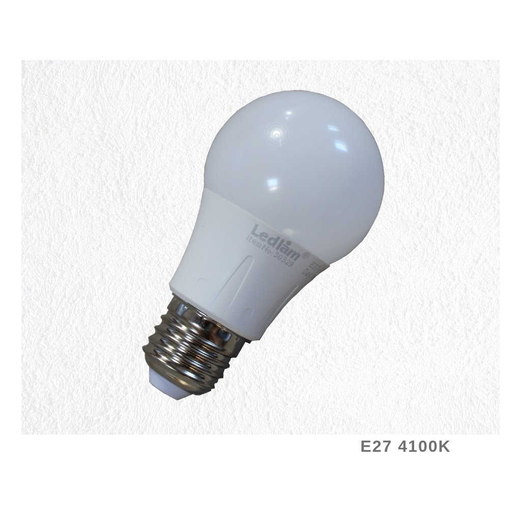 E27 4100K LED bílá na www pikomal cz