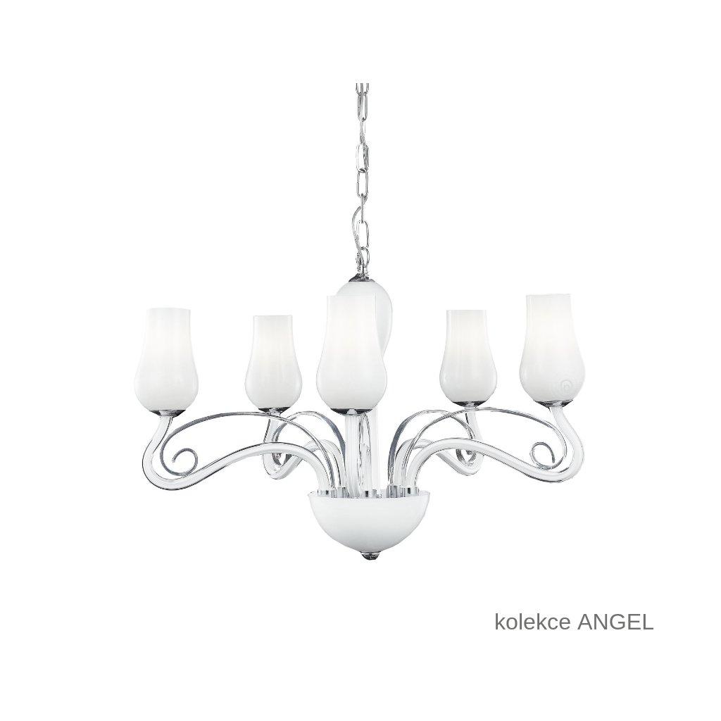 I ANGEL 5 FANEUROPE závěsné bílé skleněné svítidlo na www pikomal cz