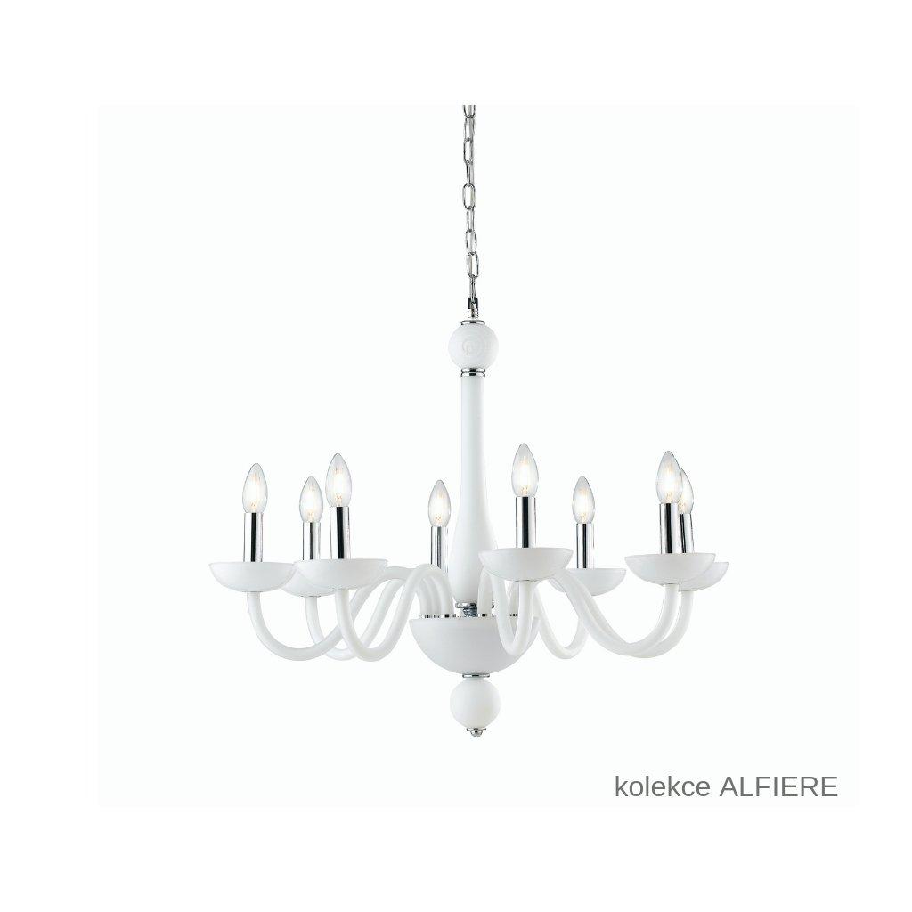 I ALFIERE 8 BCO FANEUROPE závěsné bílé skleněné svítidlo na www pikomal cz