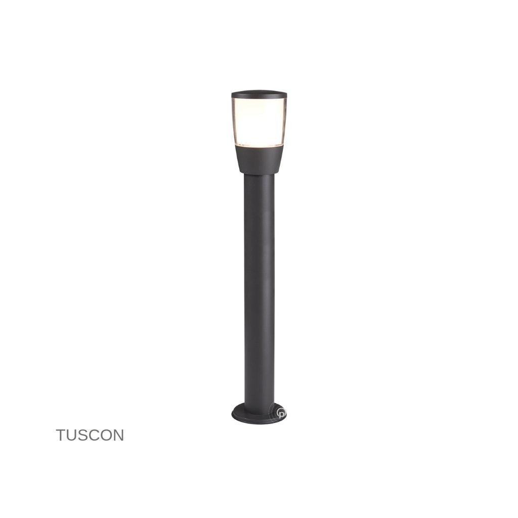 0598 900GY TUSCON venkovní svítidlo sloupek na zem 1xE27 tmavě šedá www pikomal cz
