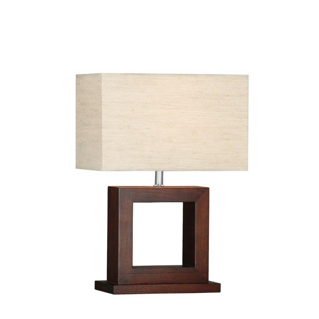 EU9000 stolní lampička přírodní dřevo hnědá obchod svitidla pikomal