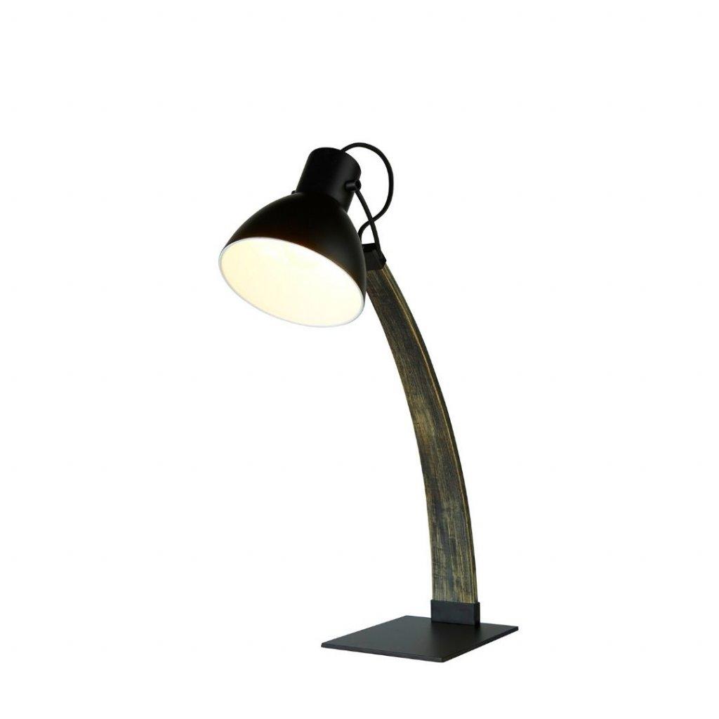 1039bk stolni lampa pracovni drevo cerna barva obchod svitidla pikomal searchlight