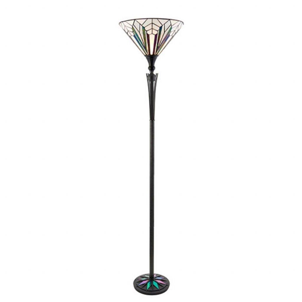 63933 stojací lampa styl tiffany obchod svitidla pikomal