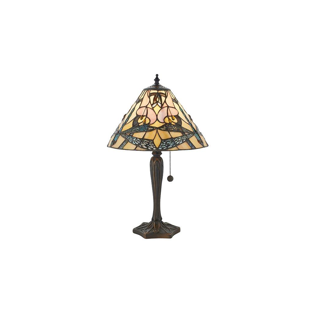 63924 Ashton 1xE14 stolní lampa růžová