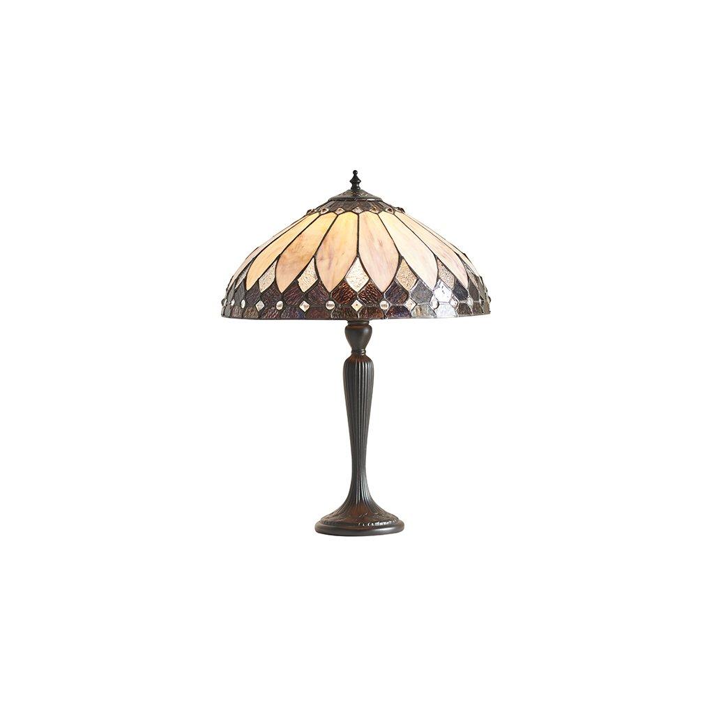 63982 Brooklyn 1xE27 stolní lampa krém