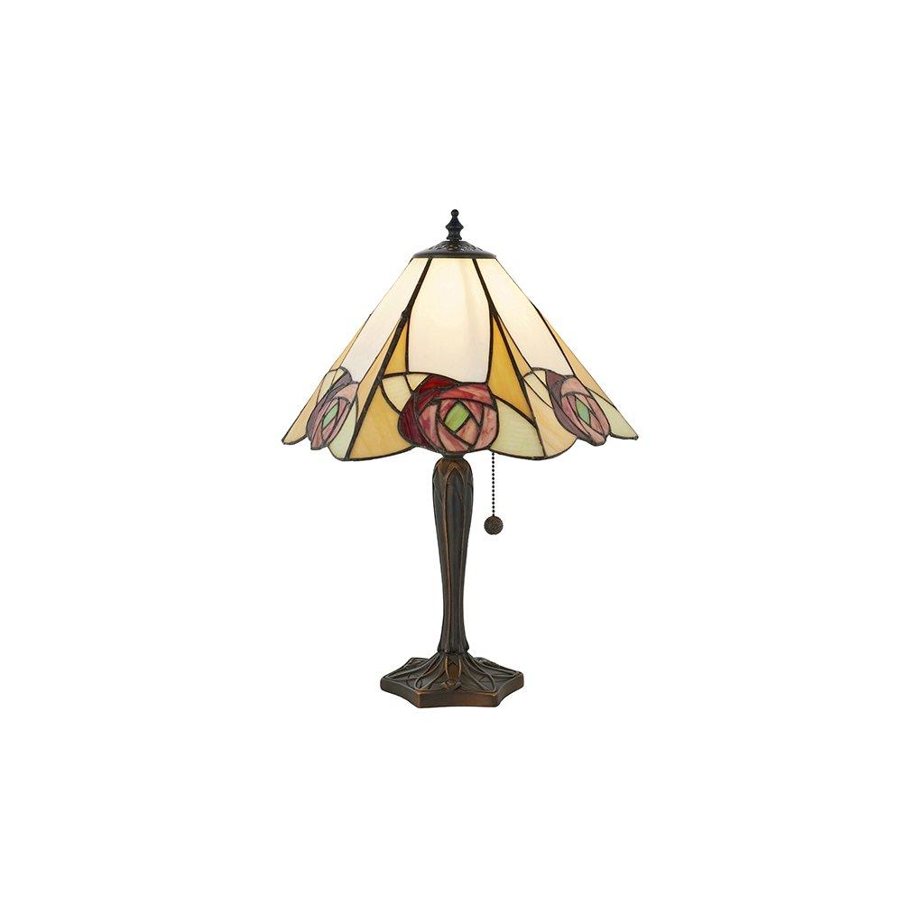 64184 Ingram 1xE27 stolní lampa růžová