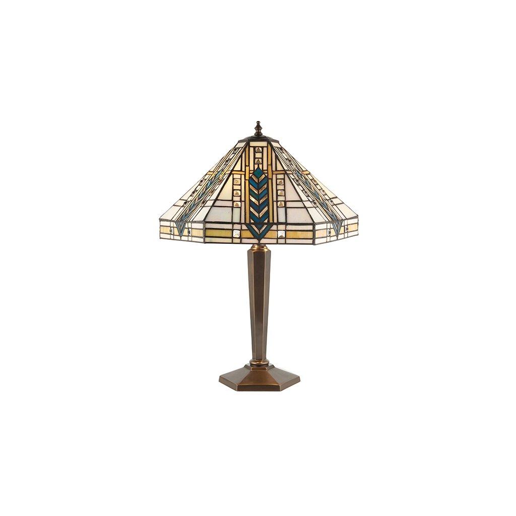 64239 Lloyd 2xE27 stolní lampa žlutá