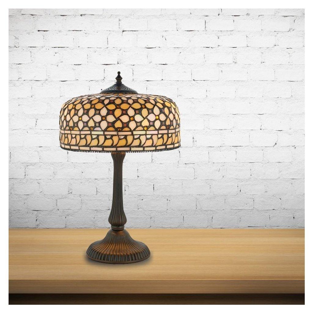 64278 stolni lampa vitrazova styl tiffany obchod svitidla pikomal interiors1900