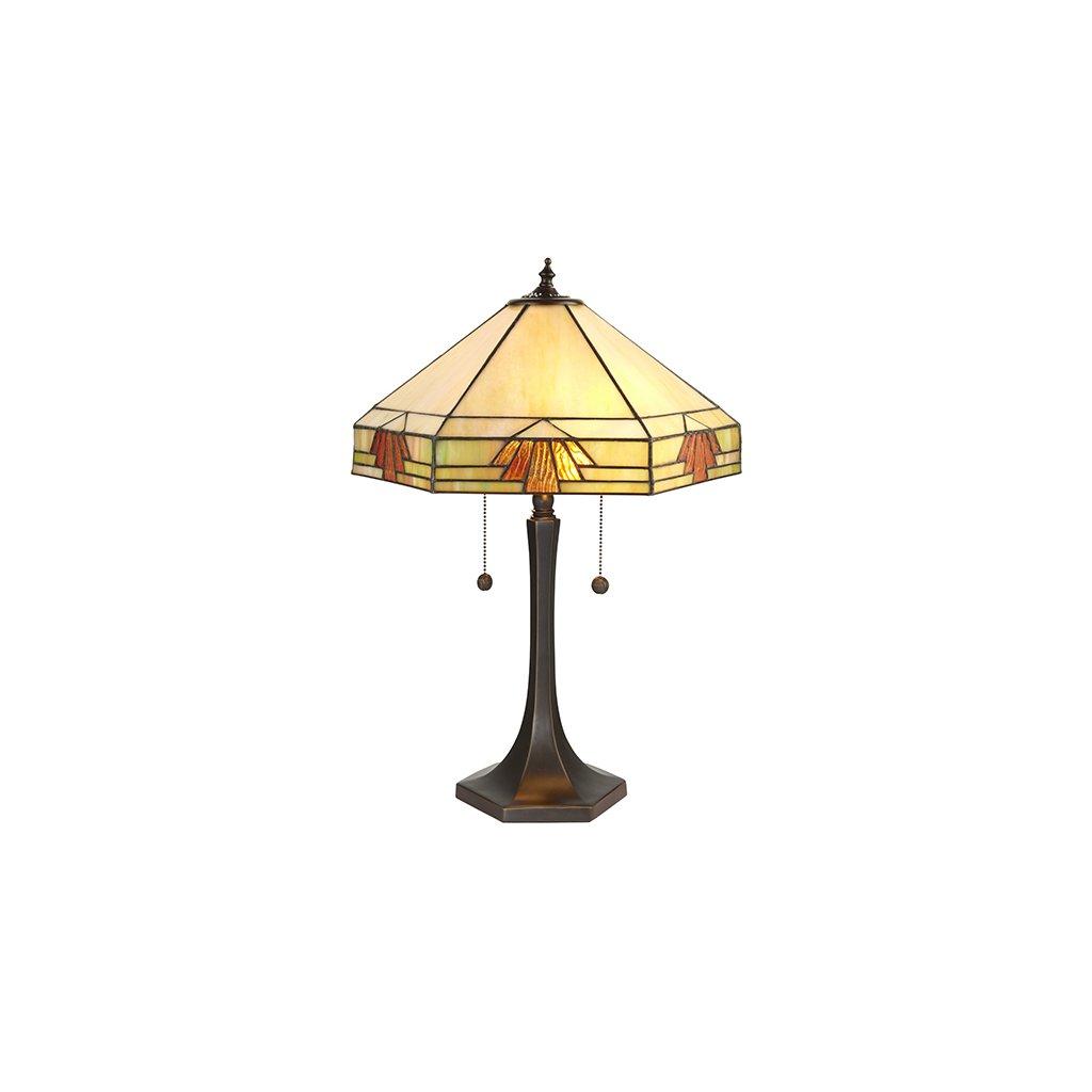 64286 Nevada 2xE27 stolní lampa žlutá