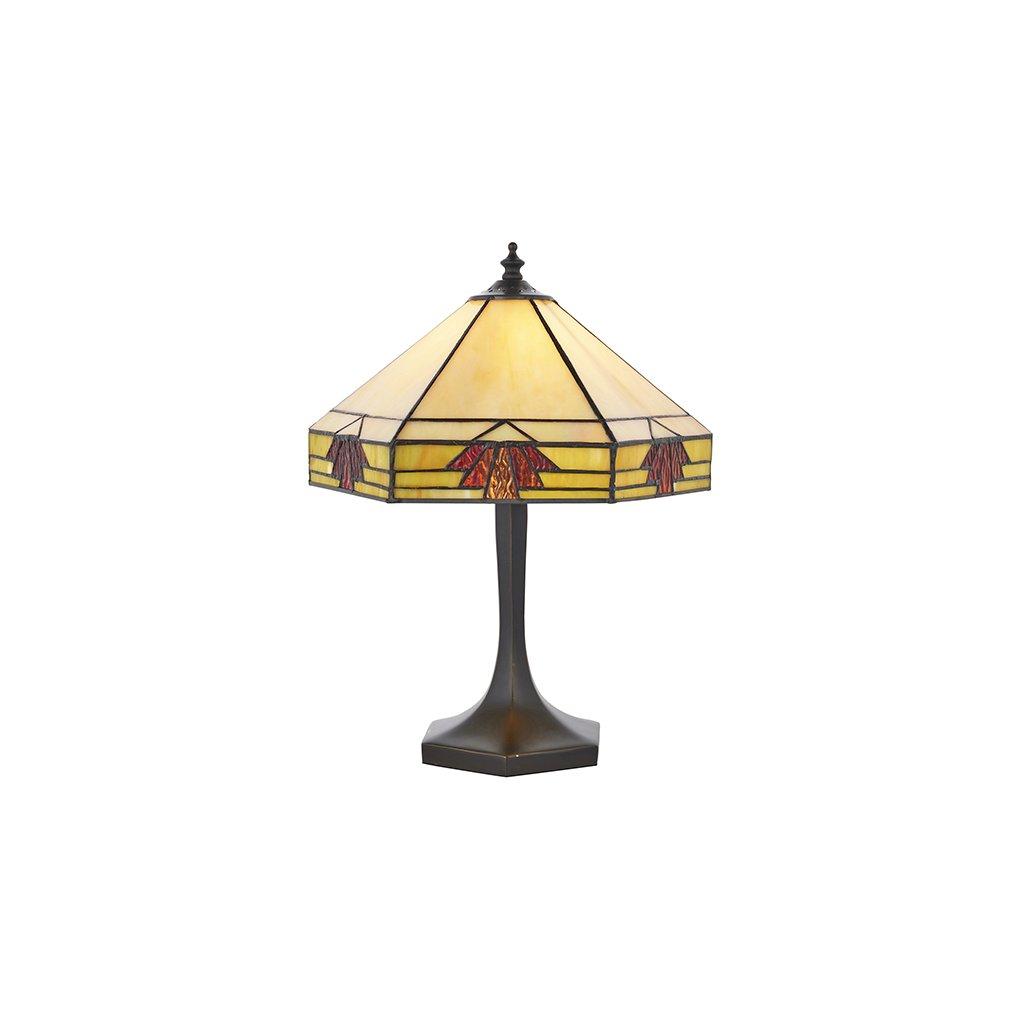 64287 Nevada 1xE14 stolní lampa žlutá