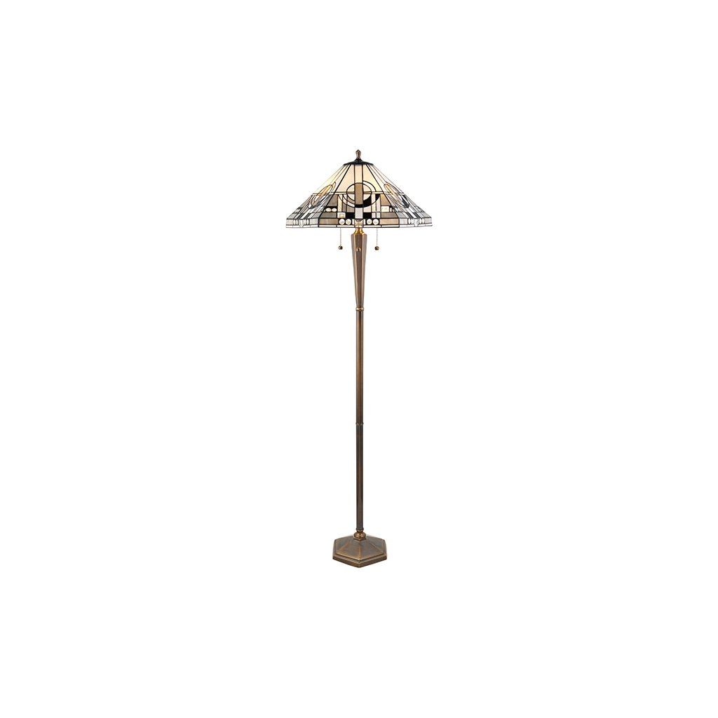 70662 Metropolitan 3xE27 stojací lampa šedá