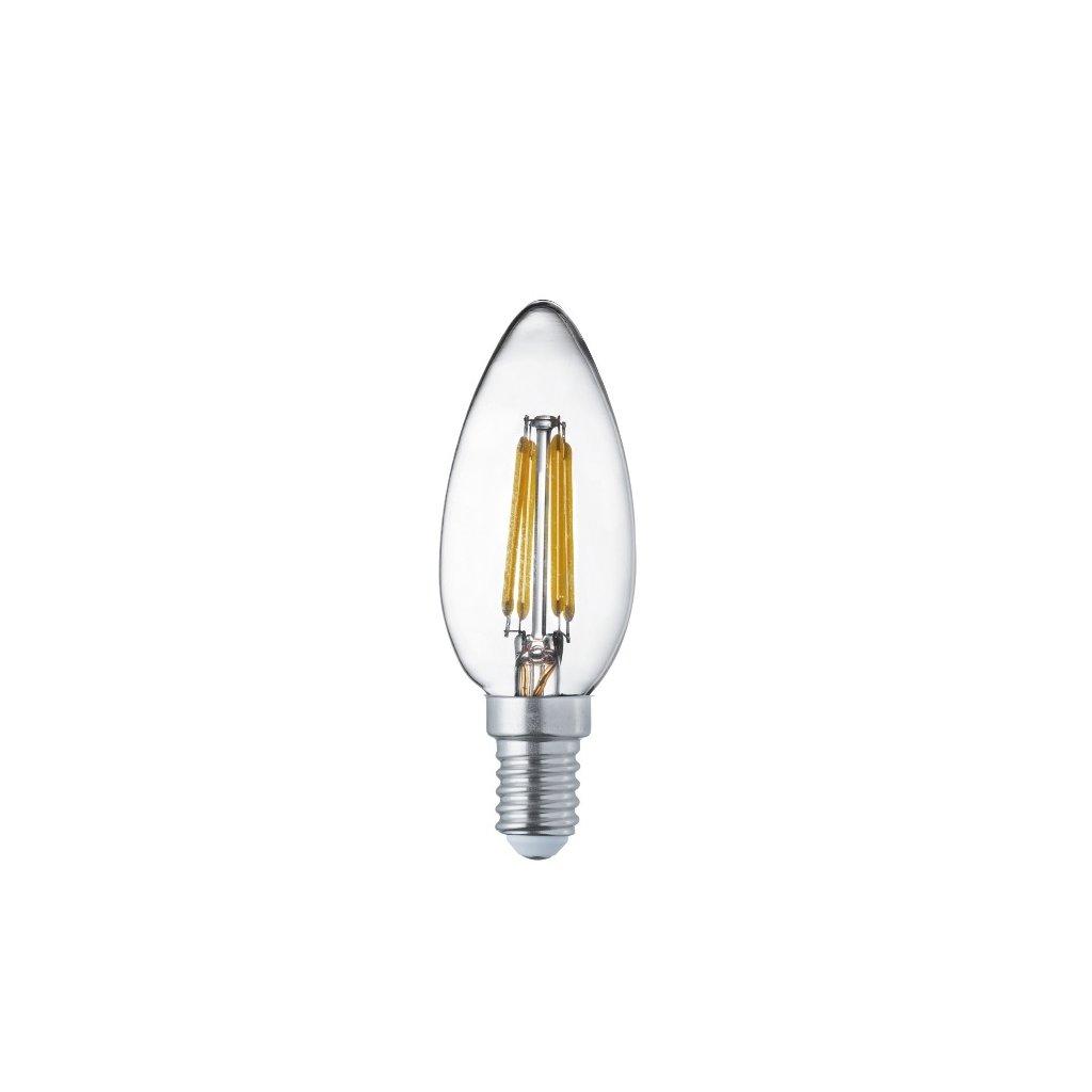 L1914 4WW svíčka LED filament 4W