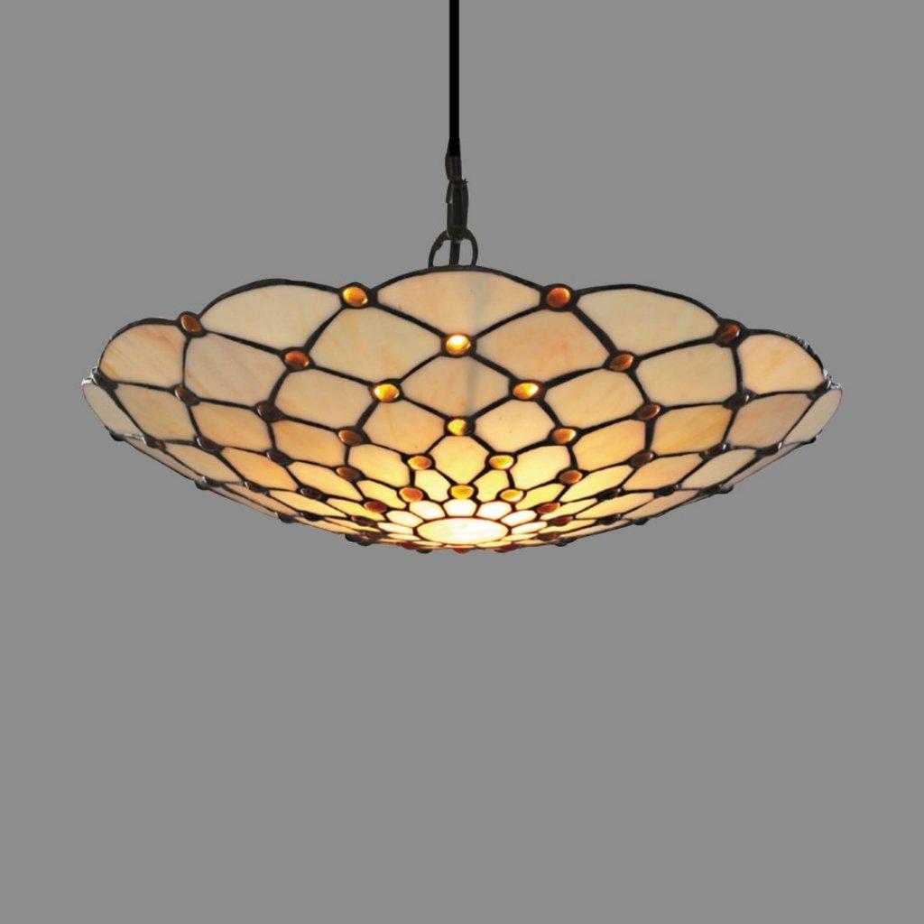 1468BR závěsné svítidlo styl tiffany obcod svitidla pikomal searchlight