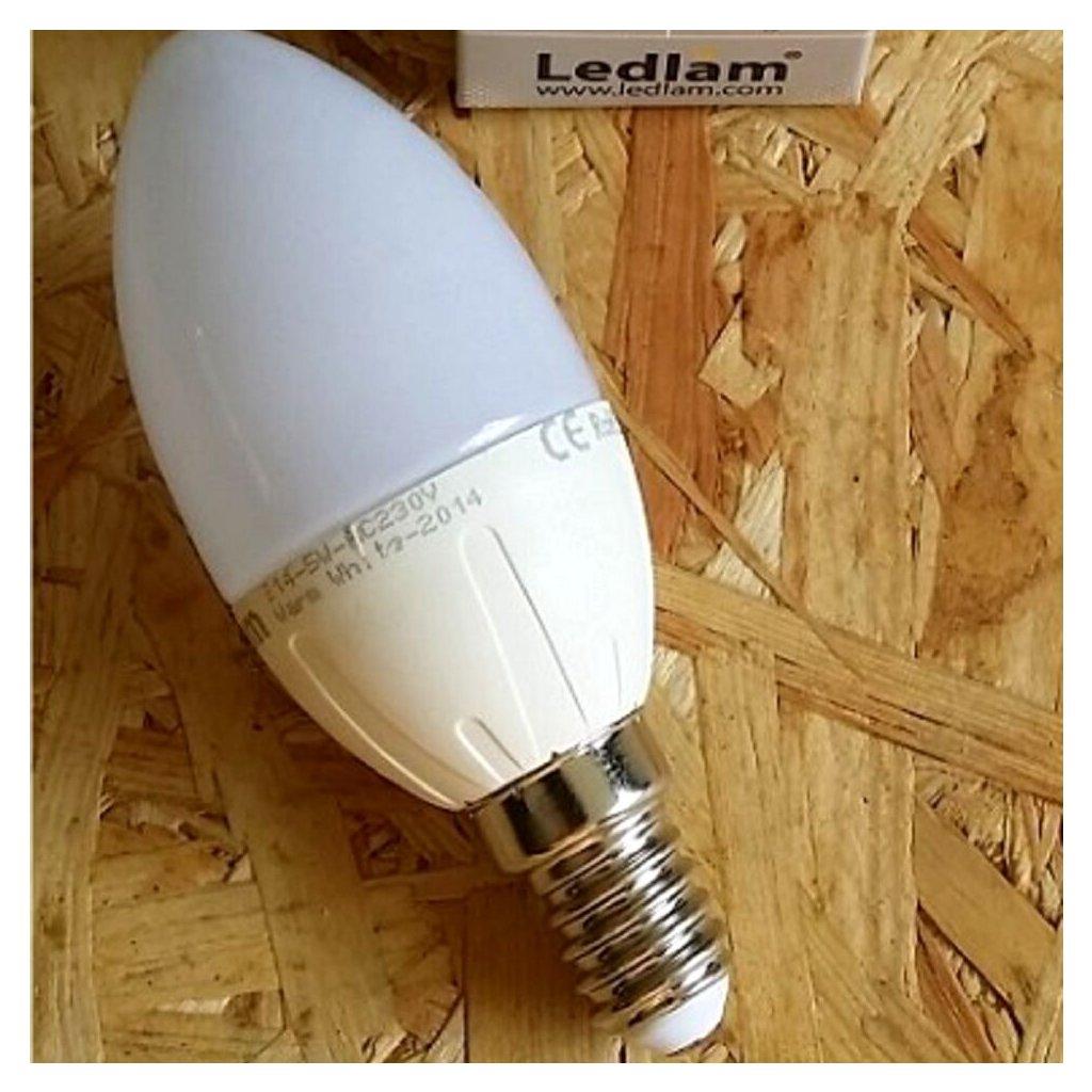 REP 020 zarovka 5W LED BILA obchod svitidla pikomal