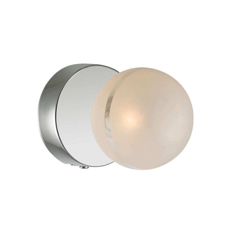 Svítidlo 60750-1 PEARL lesklý chrom a sklo 1xG9
