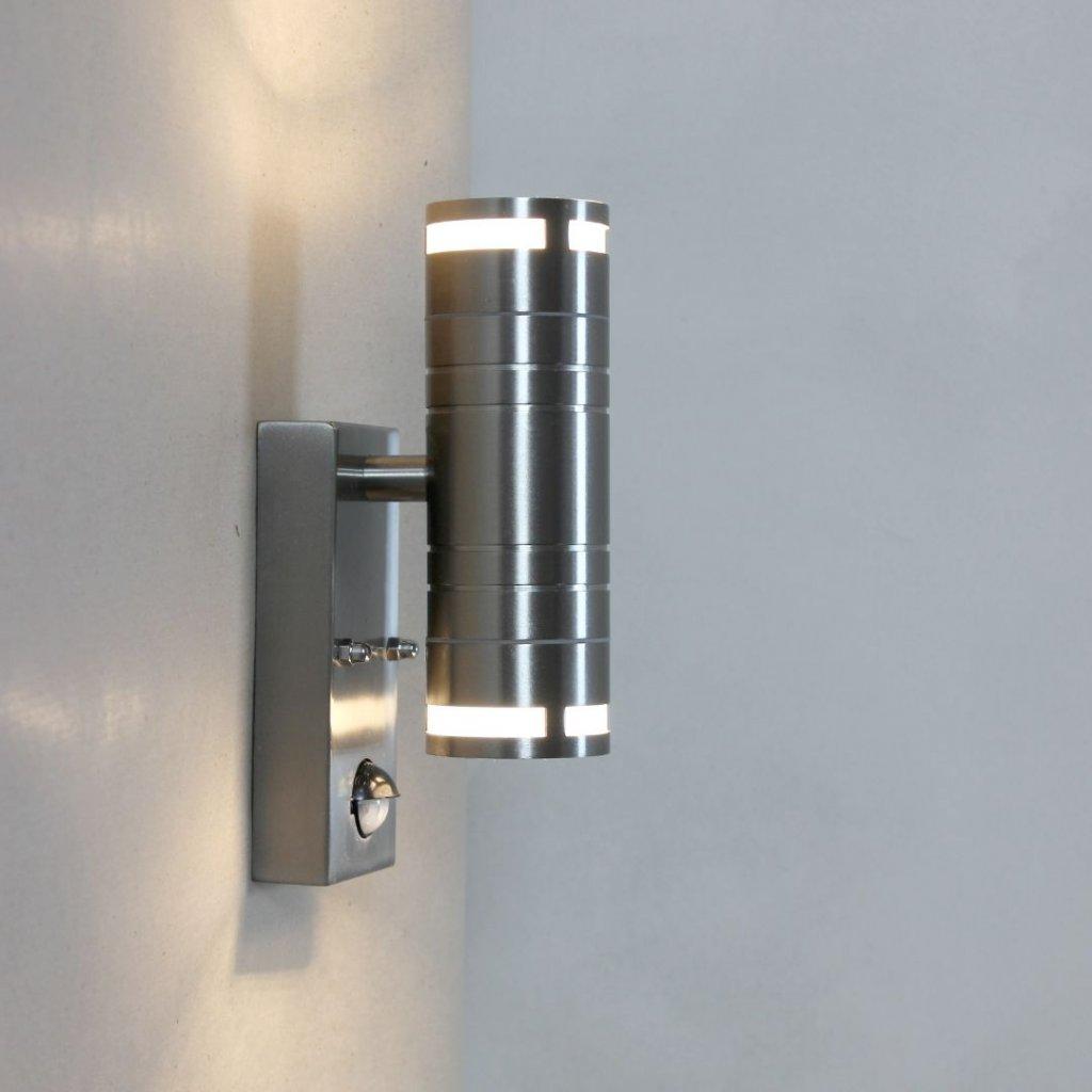 SEA457 3 venkovní svítidlo na zeď senzor čidlo nerez obchod svitidla pikomal ip44 sviti