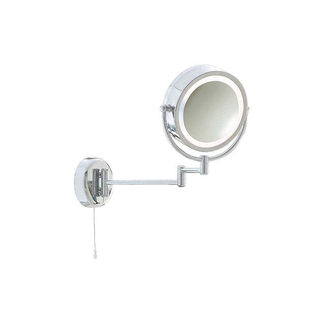 11824 zrcadlo na stenu kosmeticke svitici IP44 chrom obchod svitidla pikomal