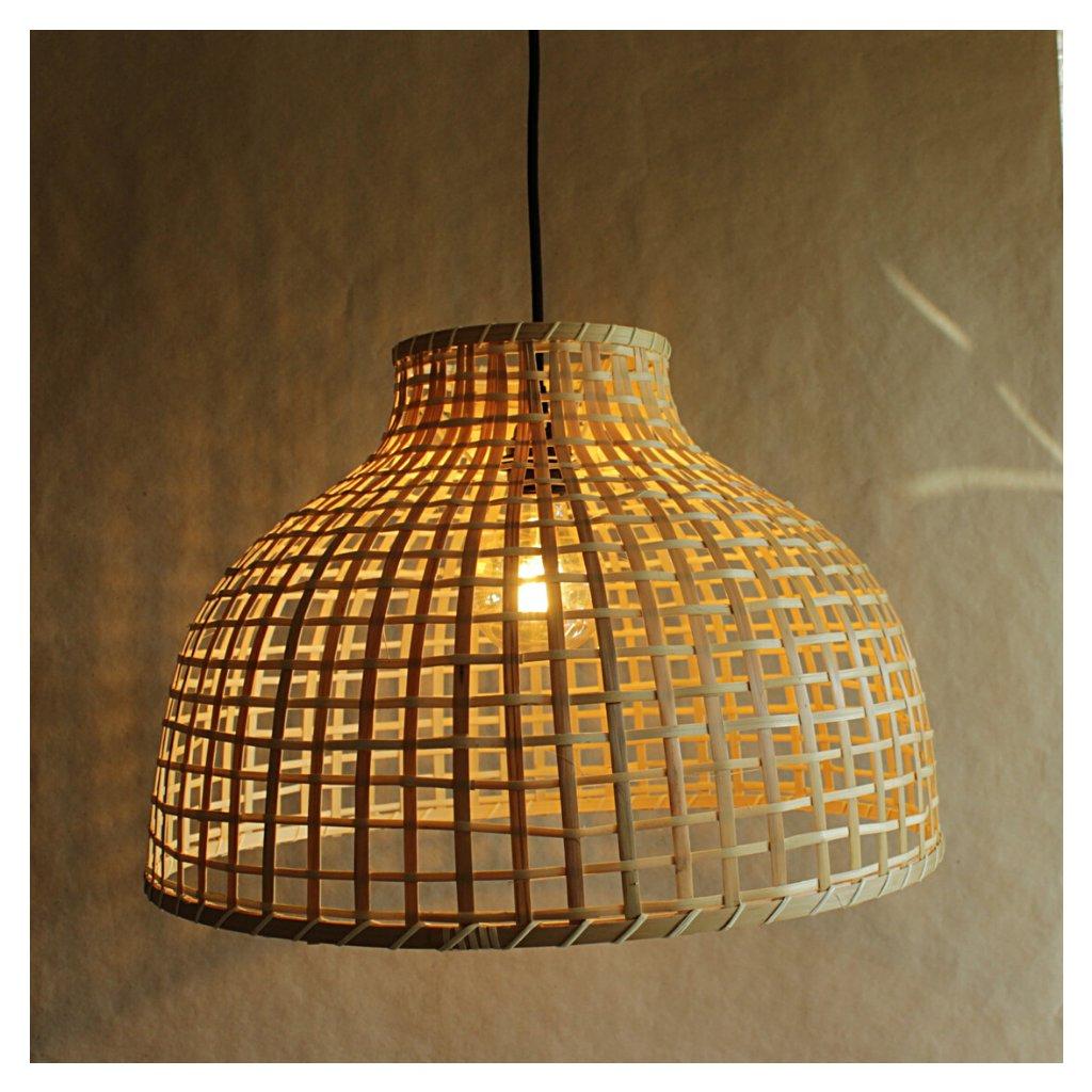 SE0096 závěsné bambusové svítidlo klobouk obchod svitidla pikomal
