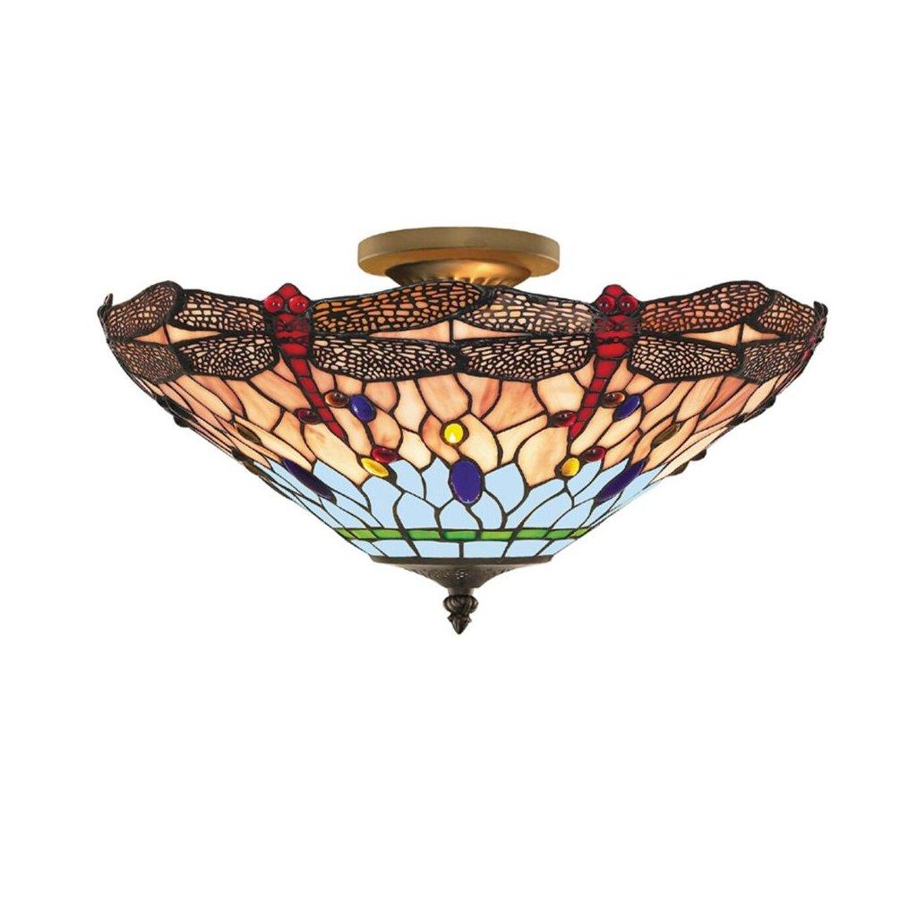 1289 16 stropni svitidla mozaika tiffany obchod svitidla pikomal