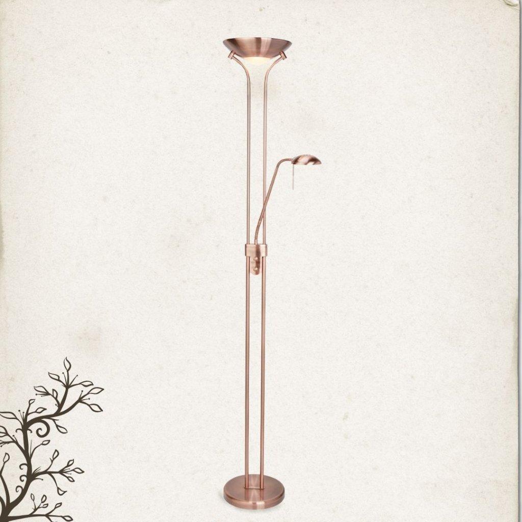 4329cu stojací halogenová lampa se stmívačem obchod svitidla pikomal