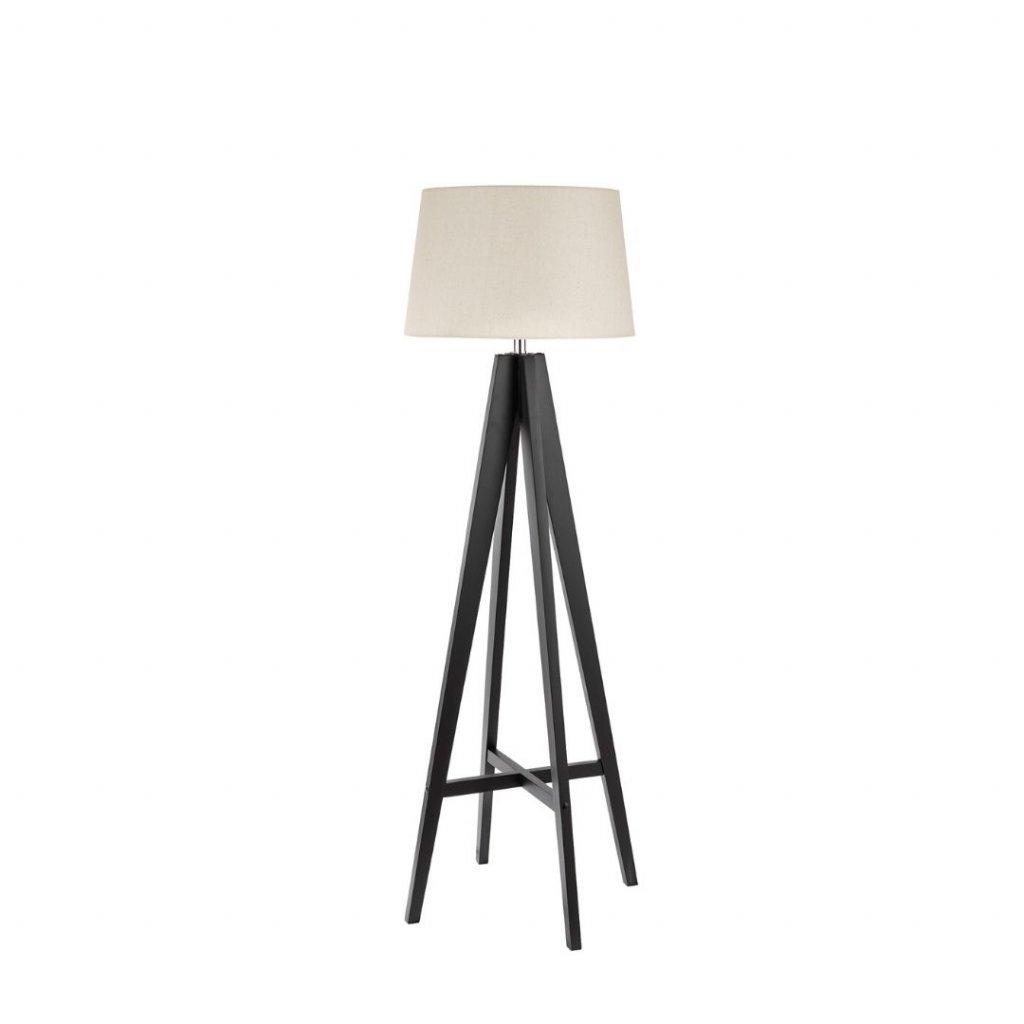 EU3540BR stojací lampa dřevo a textil obchod svitidla pikomal