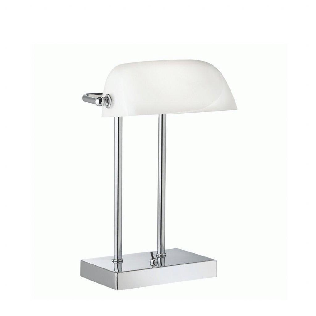 EU1200cc lampa na stul bankerska bila chrom obchod svitidla pikomal searchlight