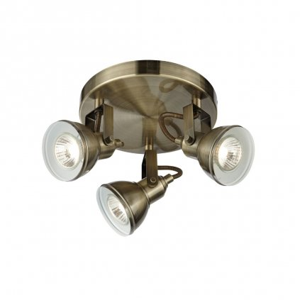 1543AB stropni bodovkove svetlo anticka mosaz obchod svitidla pikomal