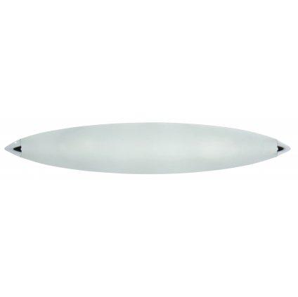 15/02400 přisazené svítidlo IP20 2xE14 lesklý chrom a mražené sklo