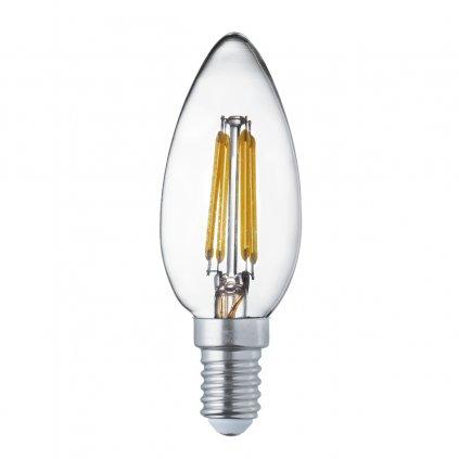 77-3470 E14 žárovka LED tvar svíčka 4W