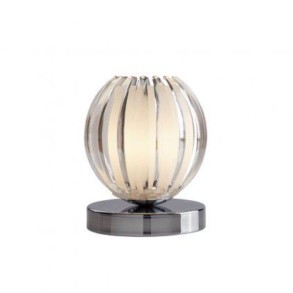 eu1811cl dotyková stolní lampička chrom akryl čirý květ obchod svitidla pikomal searchlight