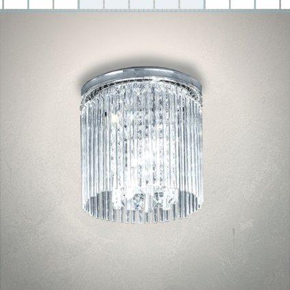 SEN256 1 stropní svítidlo do koupelny IP44 chrom a křišťál sklo obchod svitidla pikomal senemty sava (jpg)