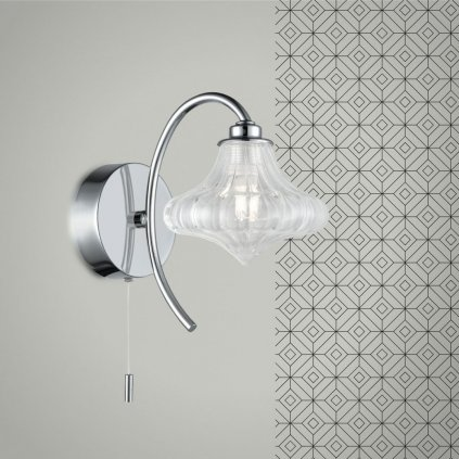 SEN265 5 světlo na stěnu do koupelny IP44 chrom a čiré sklo obchod svitidla pikomal senemty (jpg)